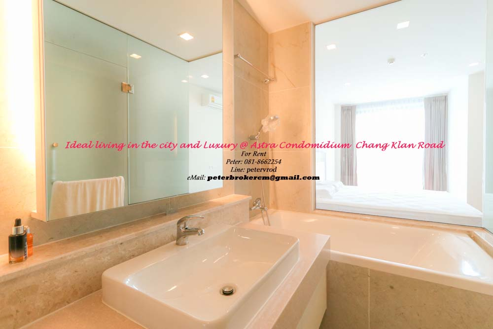 The Astra Condo Full Furnished 50 Sqm  1 Bedroom Apartment