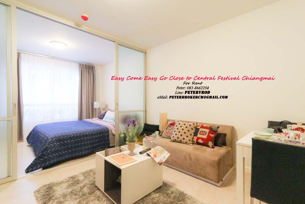 dcondo sign room for rent Affordable 1 Bed Room chiang mai