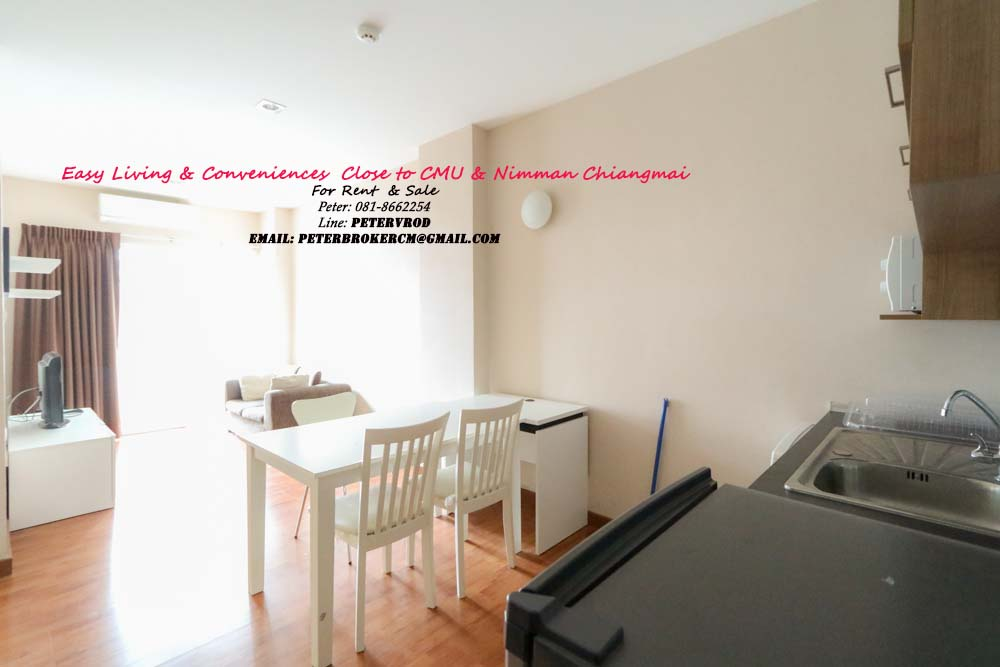 One plus CMU for sale Stunning 1 bedroom chiang mai