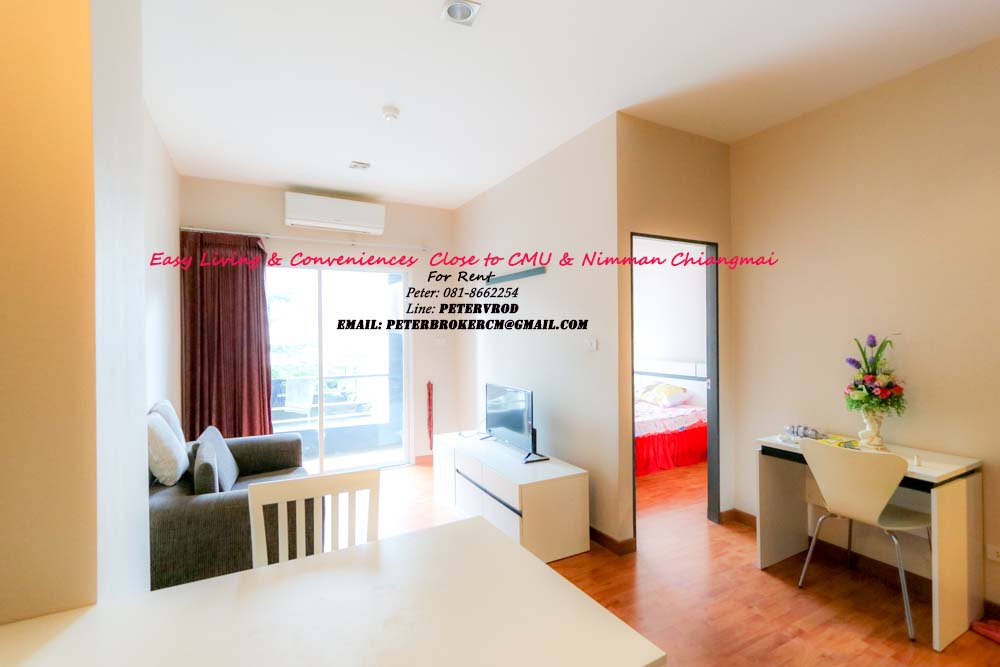 One plus CMU apartment for sale Attractive 1 bedroom at chiang mai