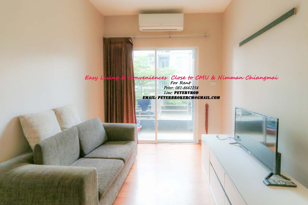One plus CMU room for rent Attractive 1 bedroom chiang mai