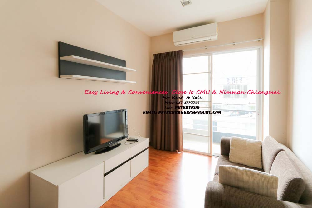 One plus CMU room for rent Stunning 1 bedroom chiang mai