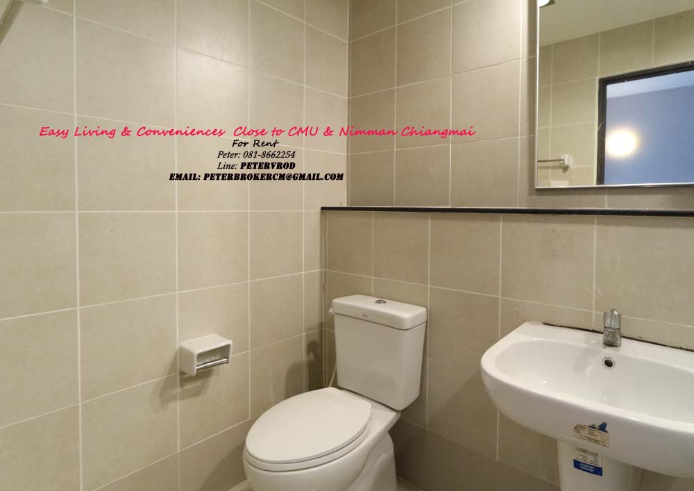 rental One plus CMU Attractive 1 bedroom chiang mai