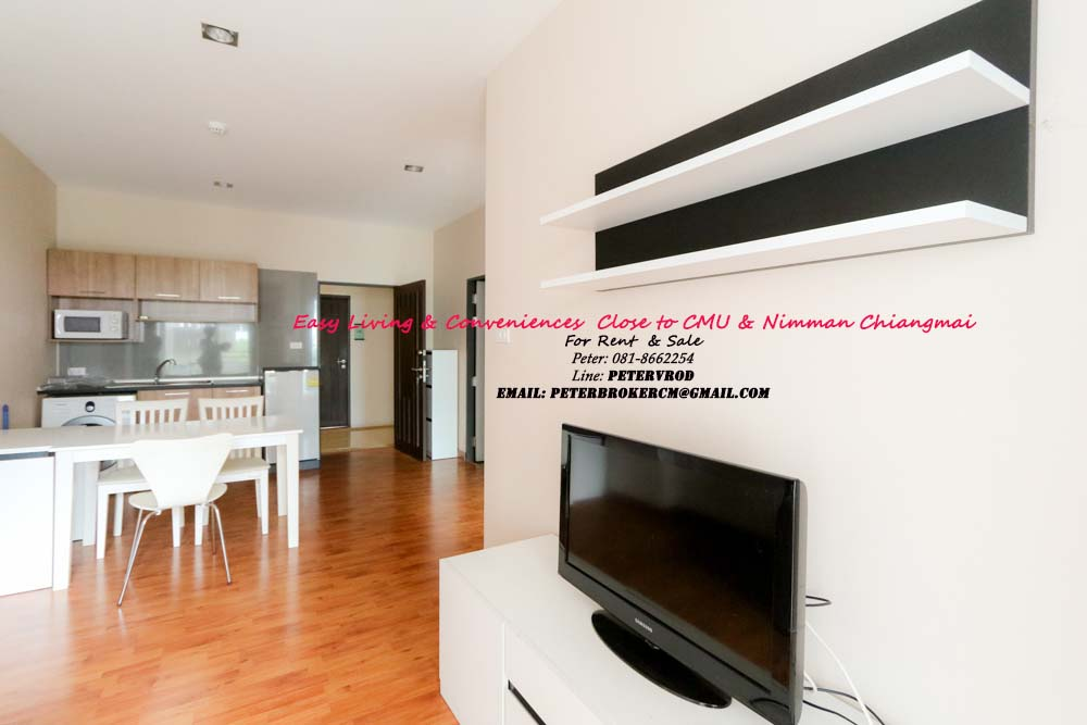 One plus CMU condo for rent Stunning 1 bedroom in chiang mai