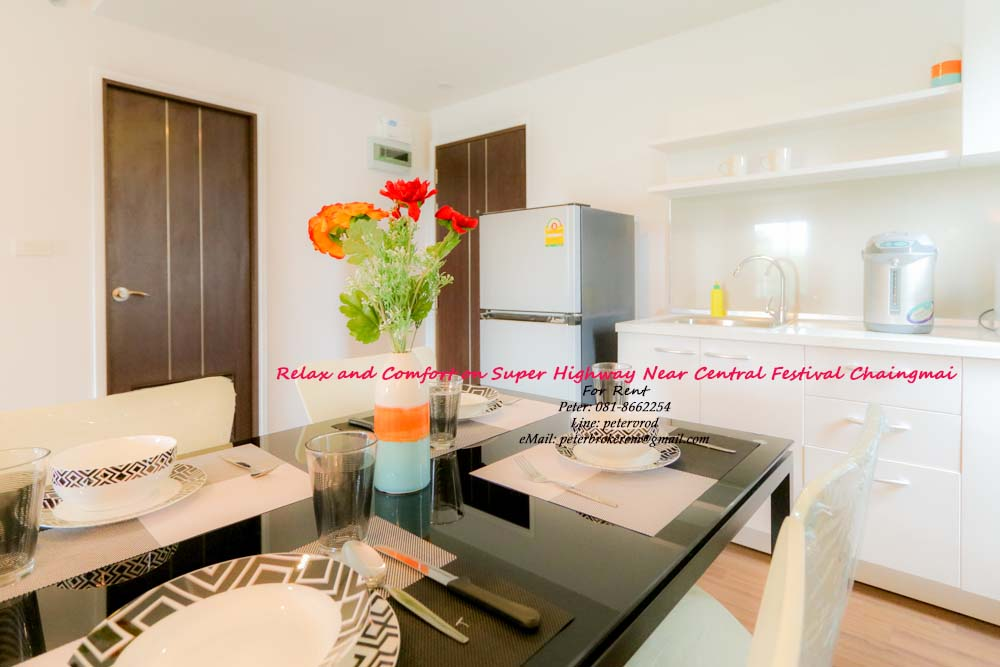 condo chiang mai for rent Punna Oasis