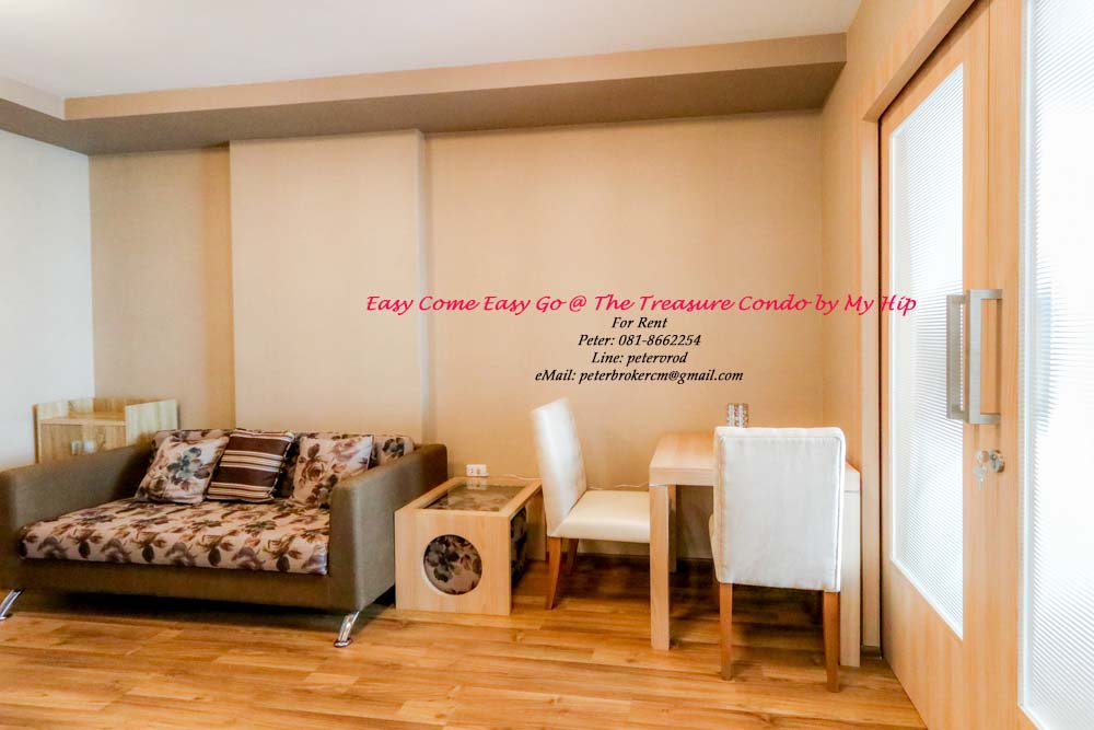 condo chiang mai for rent The Treasure by My Hip