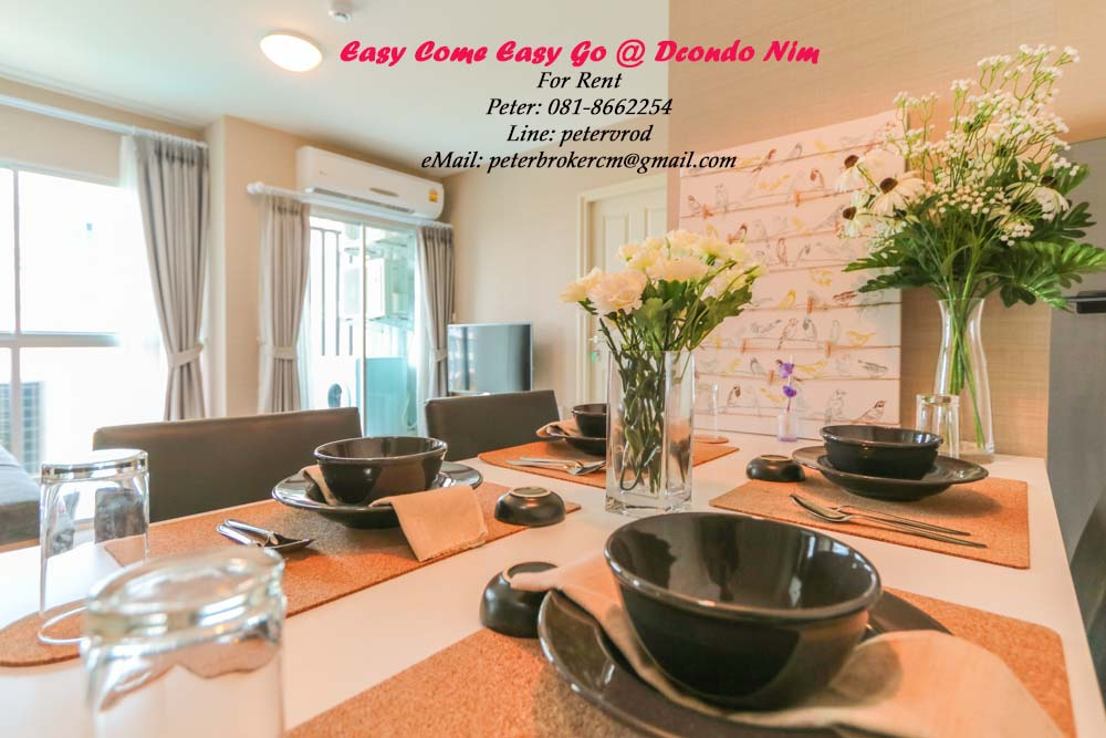 condo chiang mai for rent D Condo Nim