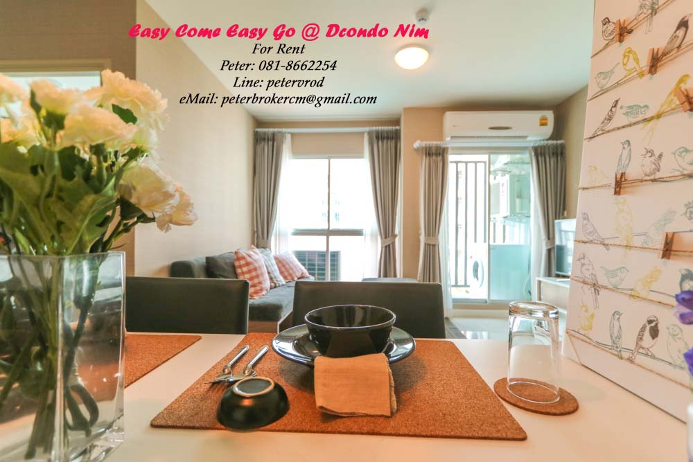 chiang mai condo for rent D Condo Nim