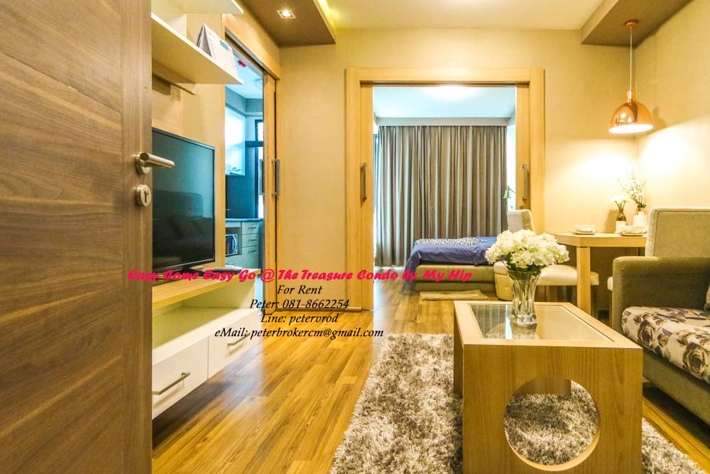 chiang mai condo for rent The Treasure by My Hip