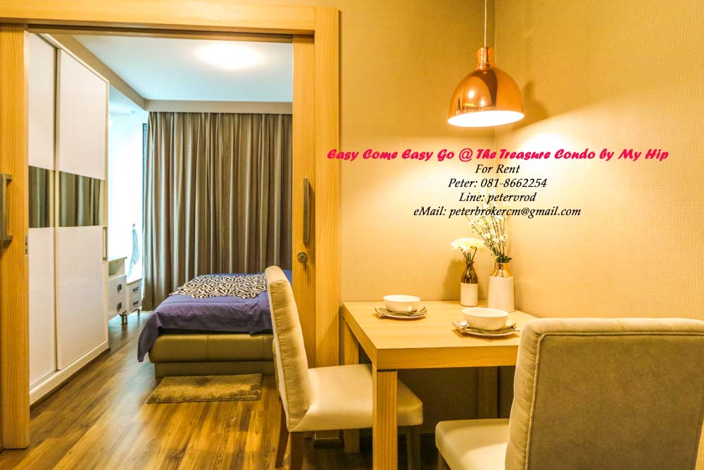 condo for rent chiang mai The Treasure by My Hip