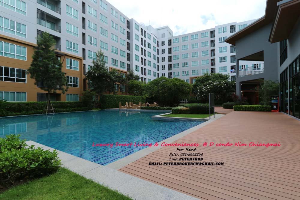 condo for rent chiang mai D Condo Nim