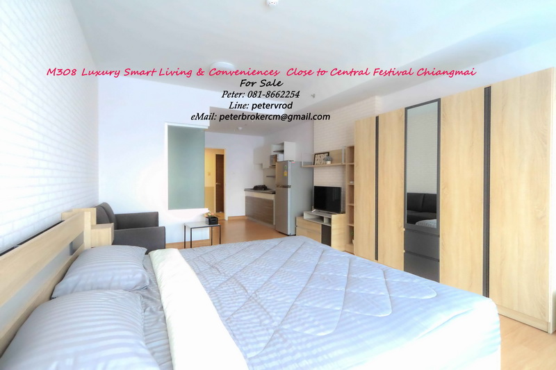 Supalai Monte Viang for sale Affordable 1 bedroom chiang mai