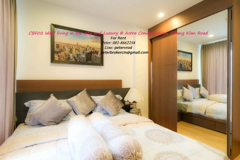 The Astra Condo Full Furnished 59 Sqm  2 bedroom Near Night