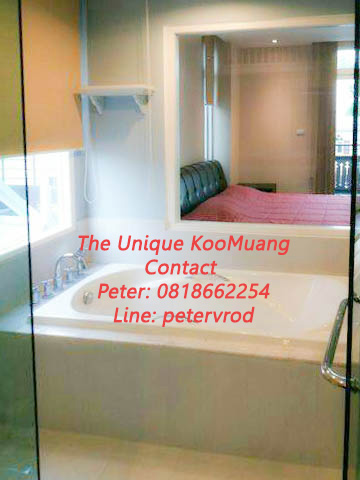 The Unique Condo @ Koomuang apartment for sale Gorgeous 1 bedroom at chiang mai