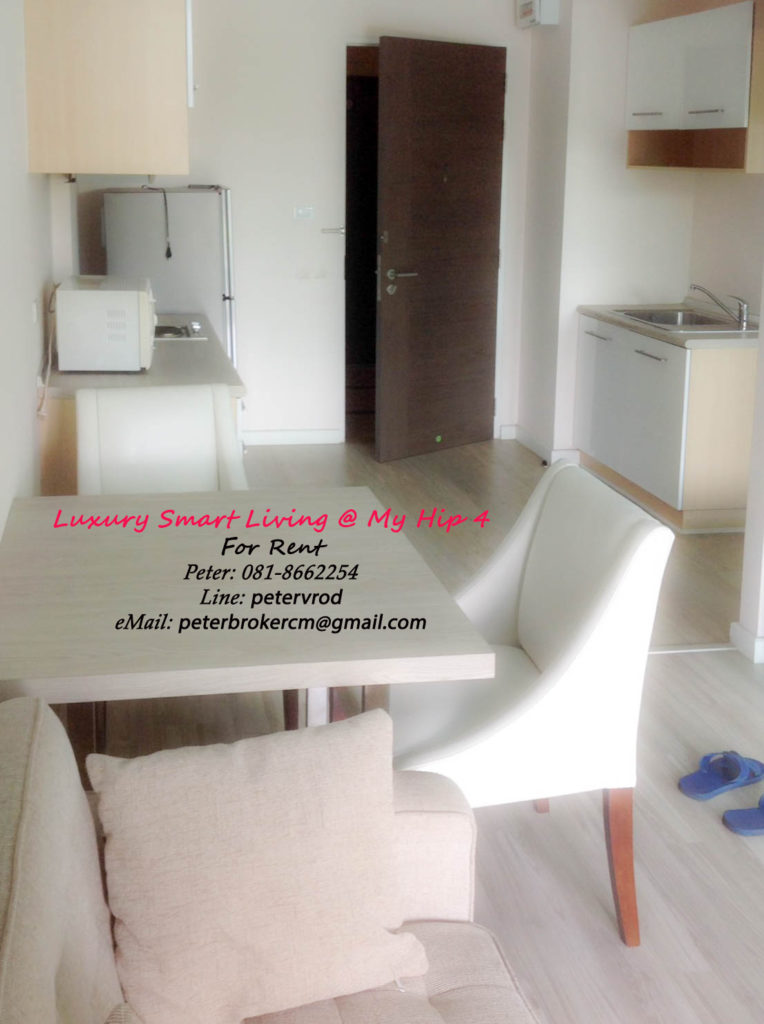 THE TREASURE By my Hip for rent Excellen 1 bedroom chiang mai