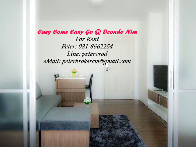 dcondo nim for sale Comfortably Furnished 1 bedroom chiang mai