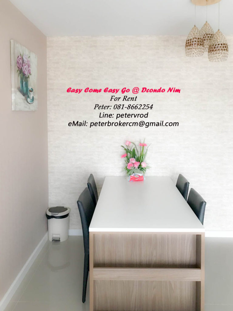 dcondo nim room for sale A nicely presented chiang mai