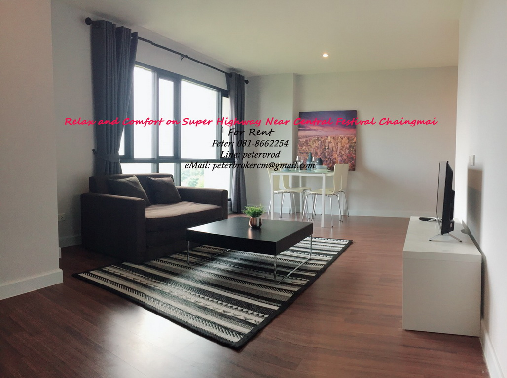 Punna Oasis 2 Fully furnished 65 Sqm Floor 8 Condo Rental near Star Avenue Lifestyle Mall