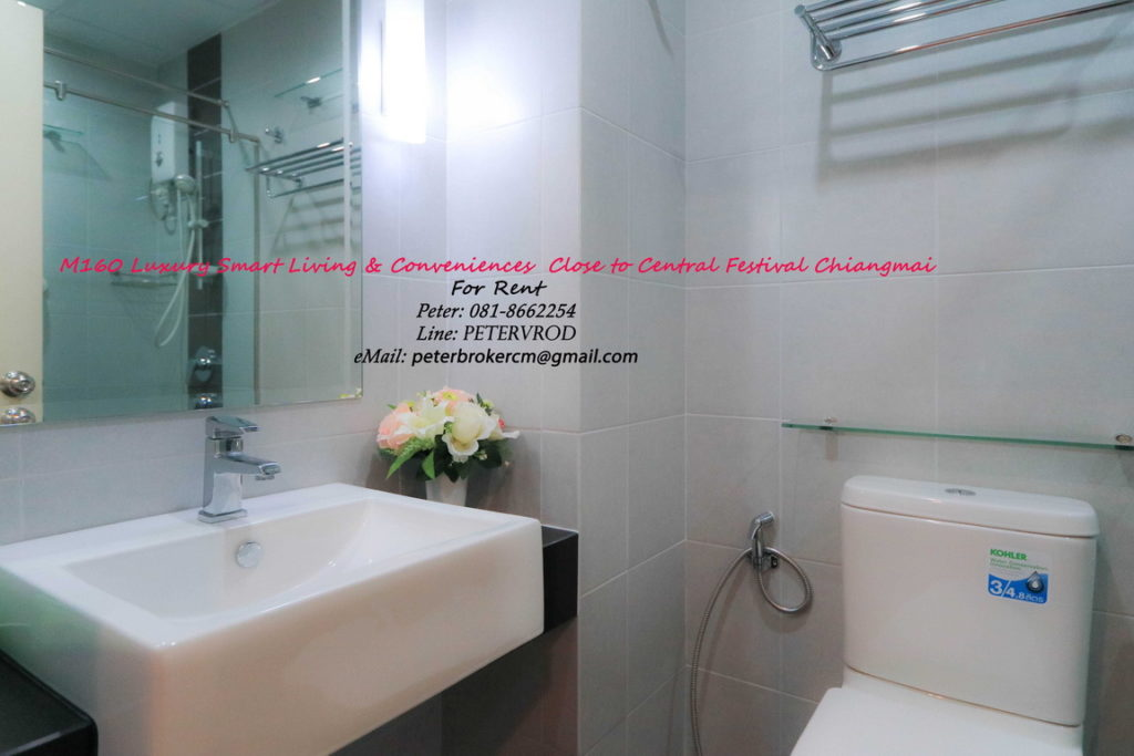 Supalai Monte @ Viang for rent High Rise Living 1 bedroom chiang mai