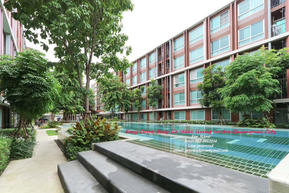 d'VIENG Santitham for sale Delightful 1 bedroom chiang mai