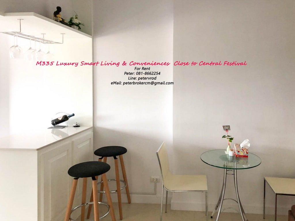 Supalai Monte @ Viang apartment for sale Nicely Furnished studio bedroom at chiang mai