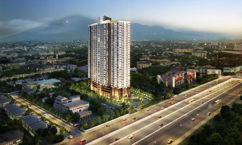 26th Floor 33 Sqm Condo Rental At Supalai Monte @ Viang