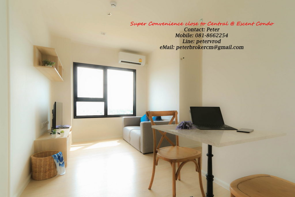 Escent Central Festival Ching Mai for sale Delightful 1 bedroom chiang mai