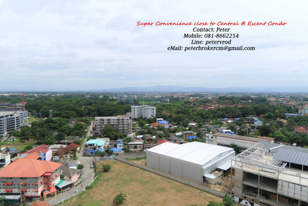 Escent Central Festival Ching Mai apartment for sale Delightful 1 bedroom at chiang mai