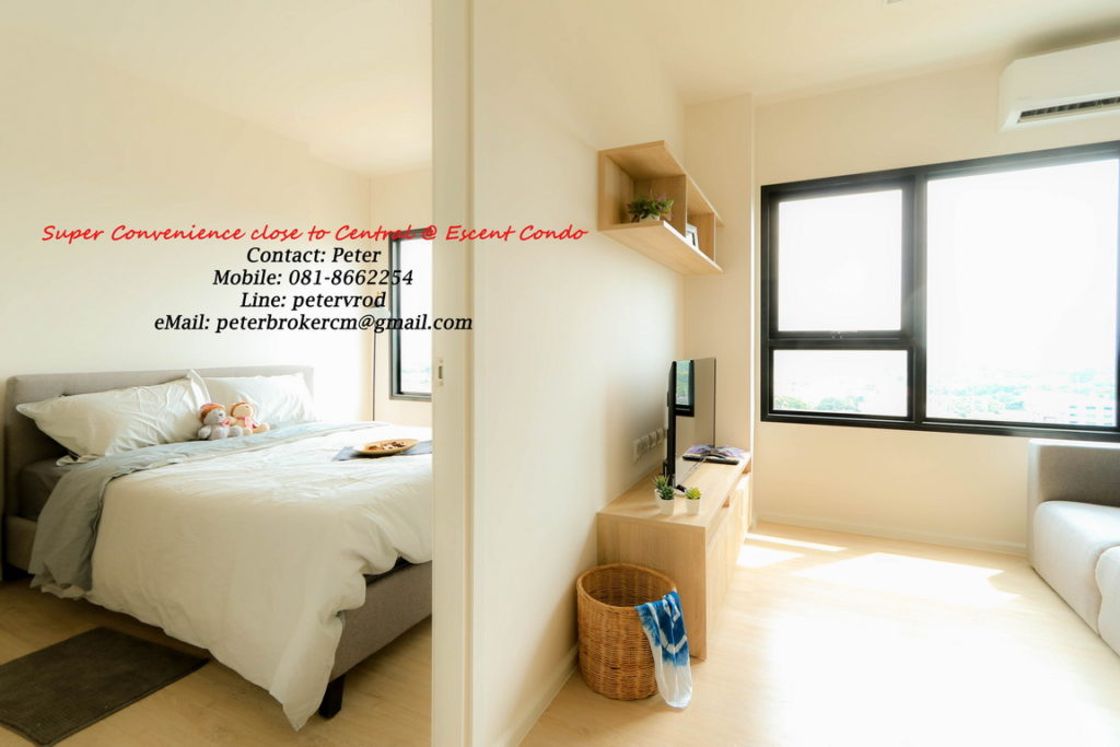 Escent Central Festival Ching Mai for rent Delightful 1 bedroom chiang mai