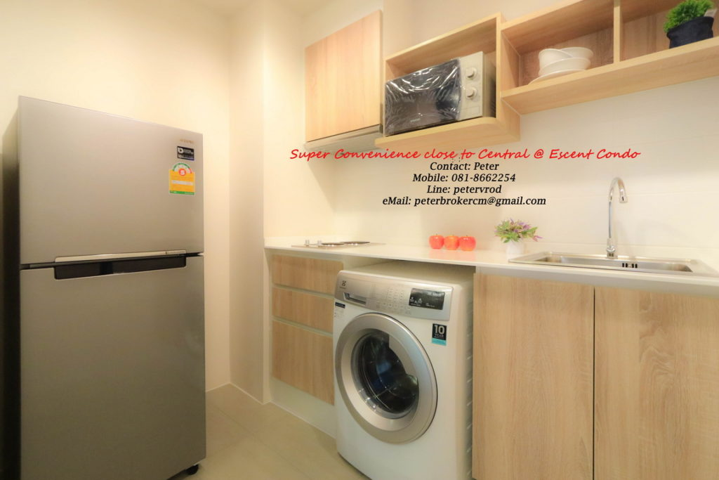 Escent Central Festival Ching Mai room for rent fantastic 1 bedroom chiang mai