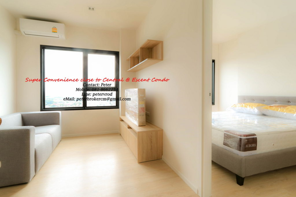 rental Escent Central Festival Ching Mai Stunning 1 bedroom chiang mai