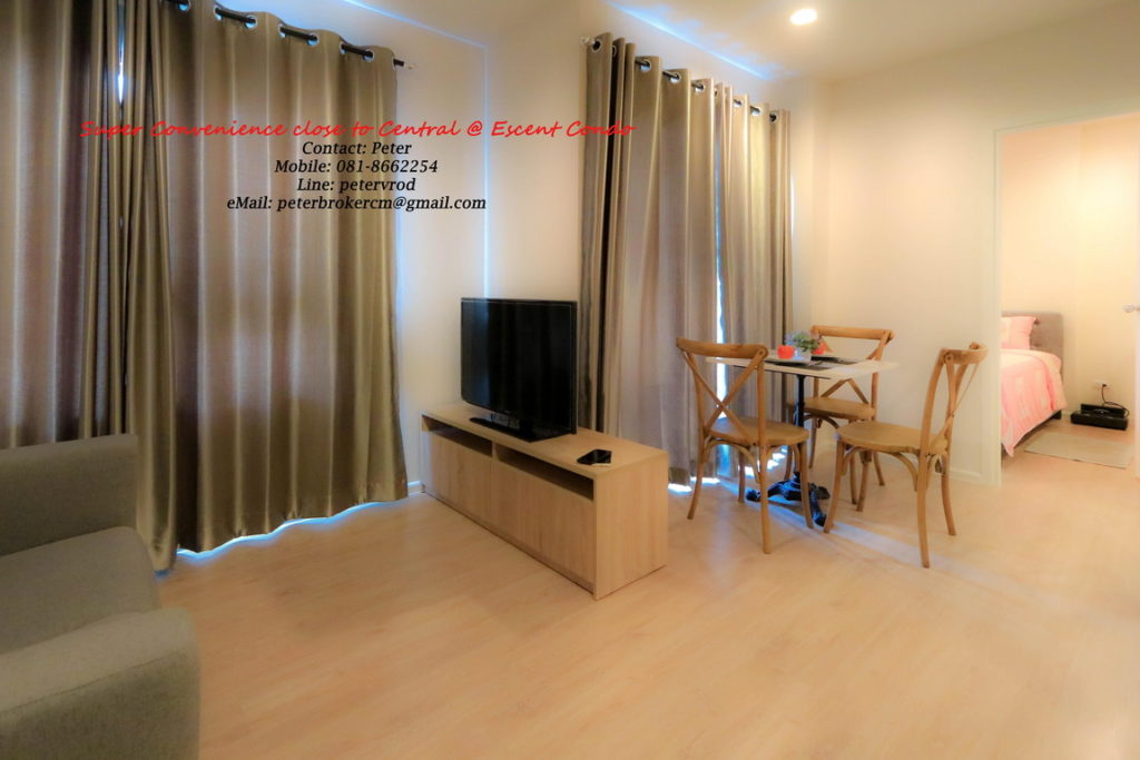 Escent Central Festival Ching Mai apartment for sale Luxury 1 bedroom at chiang mai