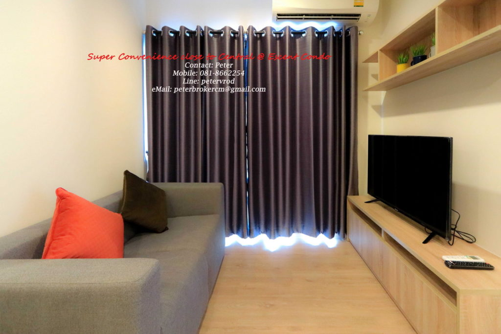 Escent Central Festival Ching Mai apartment for sale fantastic 1 bedroom at chiang mai