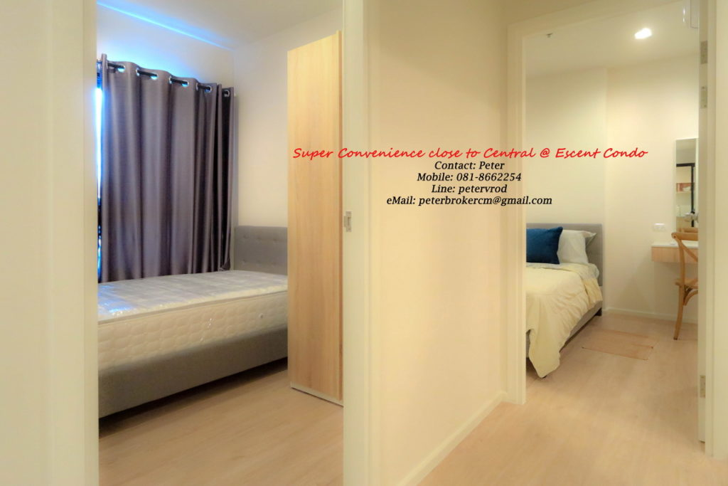 Escent Central Festival Ching Mai condo for rent fantastic 1 bedroom in chiang mai