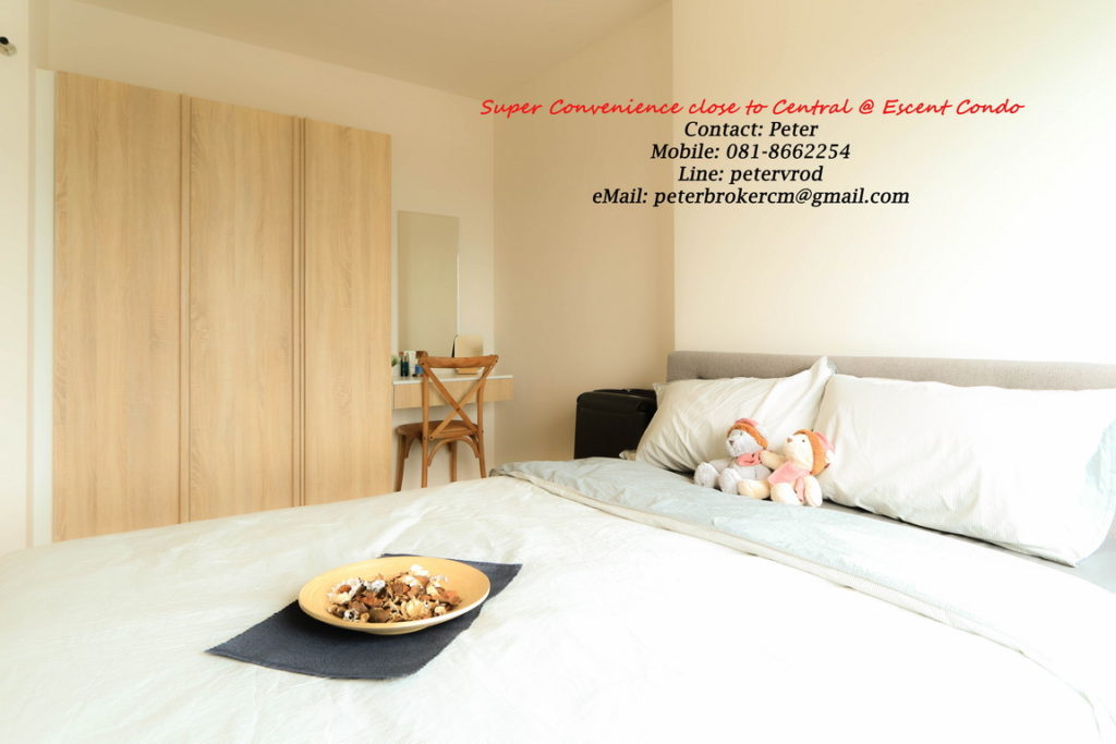Escent Central Festival Ching Mai room for sale Luxury 1 bedroom chiang mai