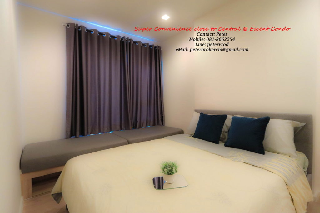 Escent Central Festival Ching Mai for sale fantastic 1 bedroom chiang mai