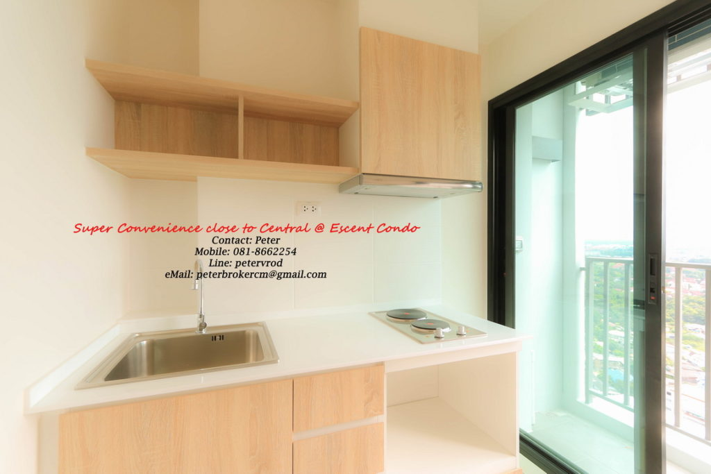 Escent Central Festival Ching Mai condo for rent Luxury 1 bedroom in chiang mai