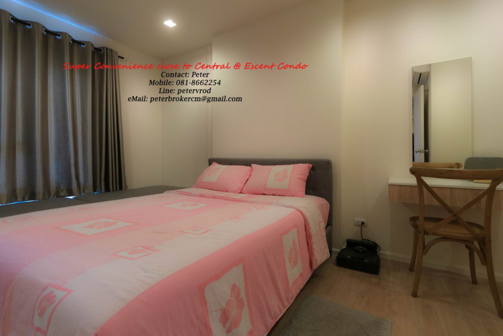 Escent Central Festival Ching Mai condo for sale Luxury 1 bedroom in chiang mai
