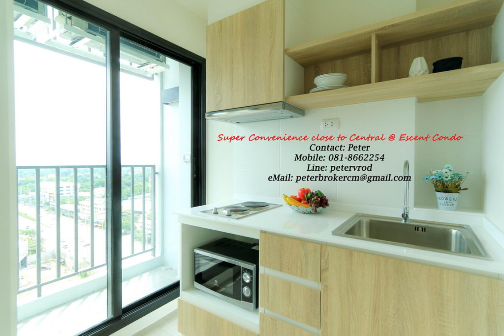 Escent Central Festival Ching Mai apartment for rent Luxury 1 bedroom at chiang mai