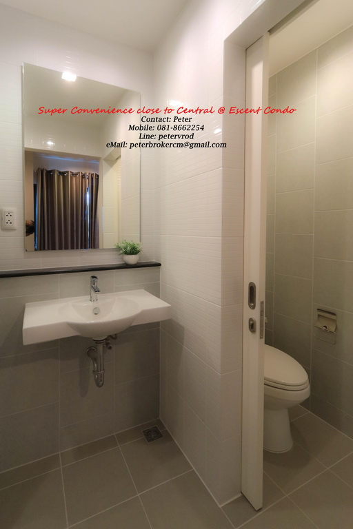 Escent Central Festival Ching Mai room for rent Delightful 1 bedroom chiang mai