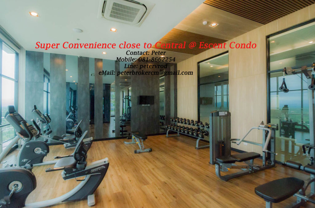Escent Central Festival Ching Mai condo for rent Delightful 1 bedroom in chiang mai