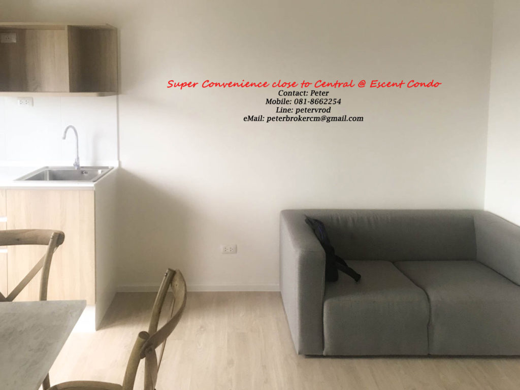 Escent Central Festival Ching Mai for sale Stunning 1 bedroom chiang mai