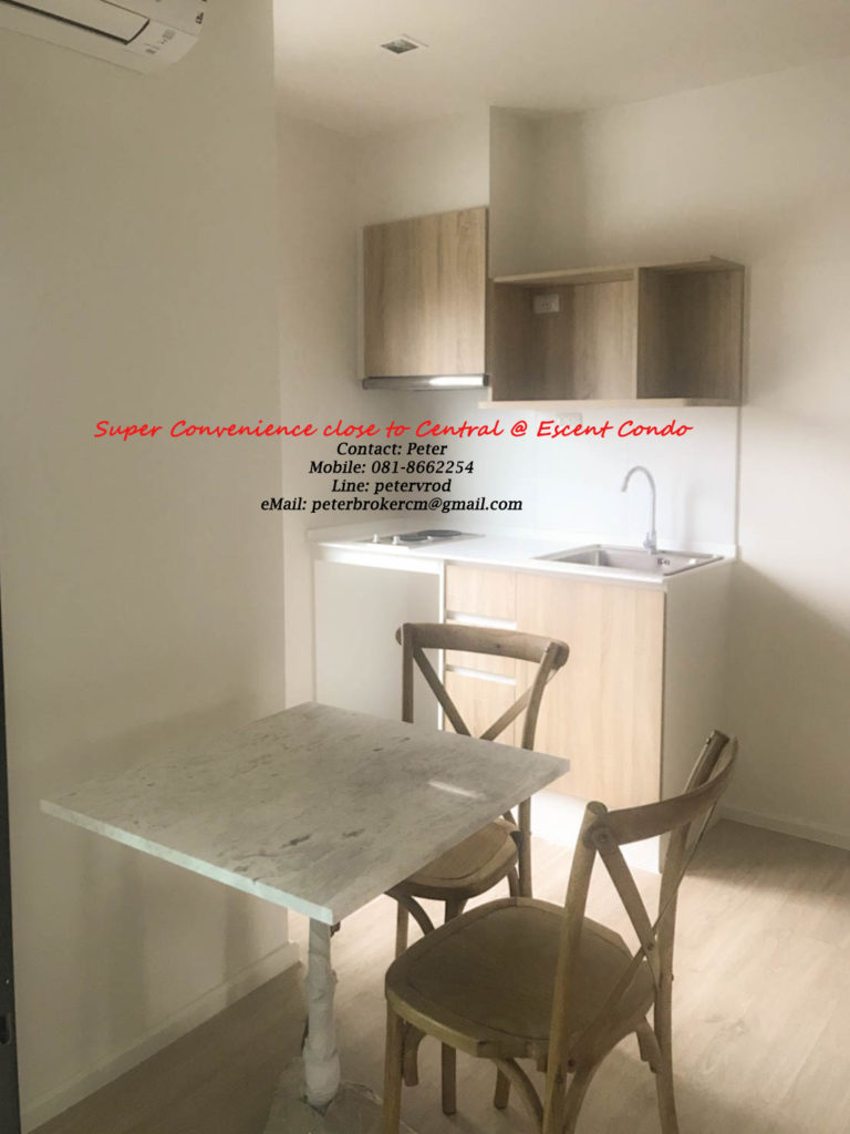 Escent Central Festival Ching Mai for rent Stunning 1 bedroom chiang mai