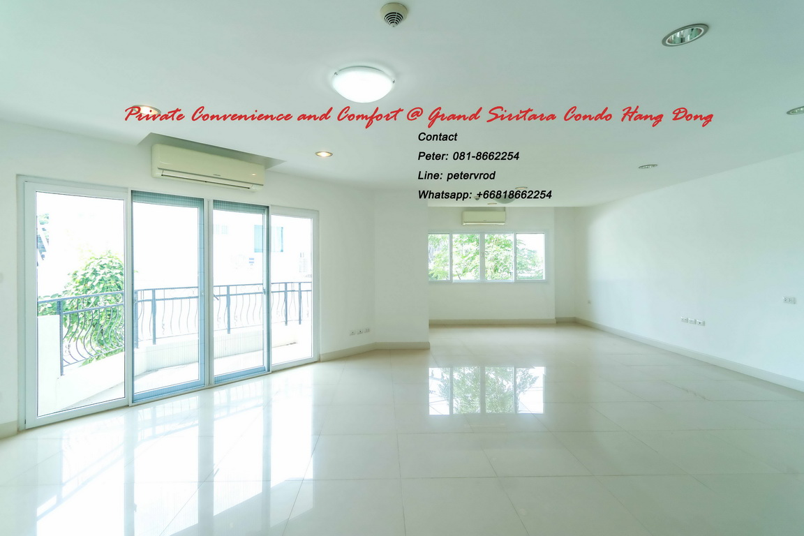Sale Grand Siritara Condo 60 Sqm Near Big C Hangdong