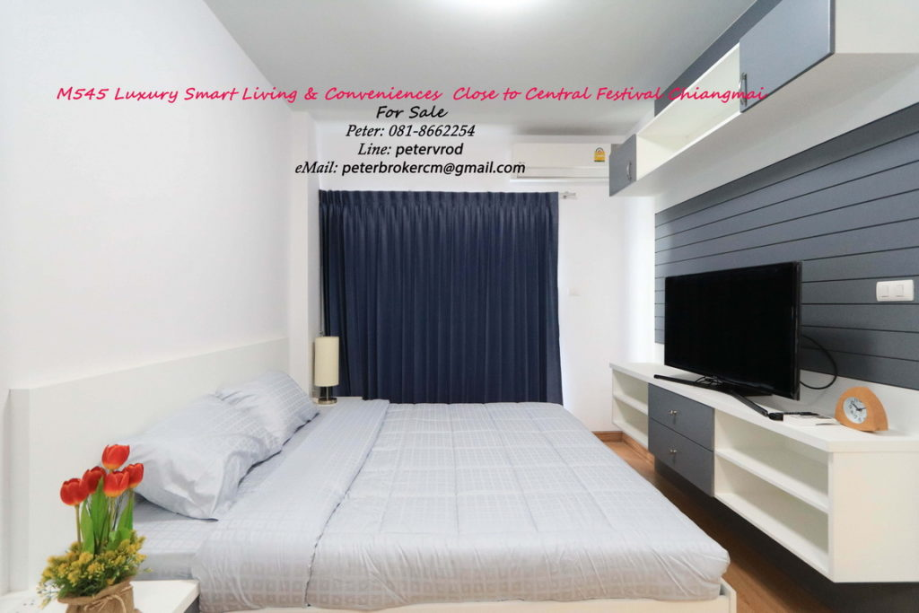 Supalai Monte @ Viang for sale Fabulous studio bedroom chiang mai