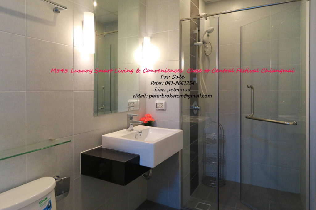 Supalai Monte @ Viang apartment for sale Beautiful studio bedroom at chiang mai
