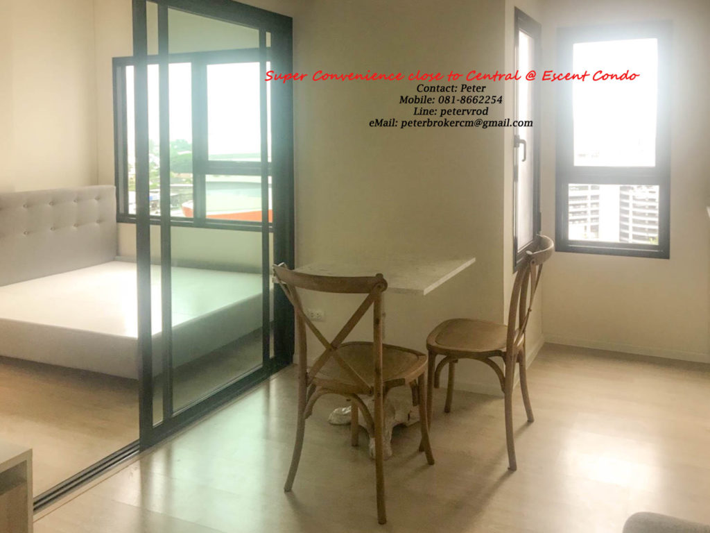 Escent Central Festival Ching Mai for rent Luxury 1 bedroom chiang mai