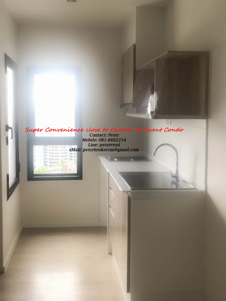 Escent Central Festival Ching Mai apartment for rent Stunning 1 bedroom at chiang mai