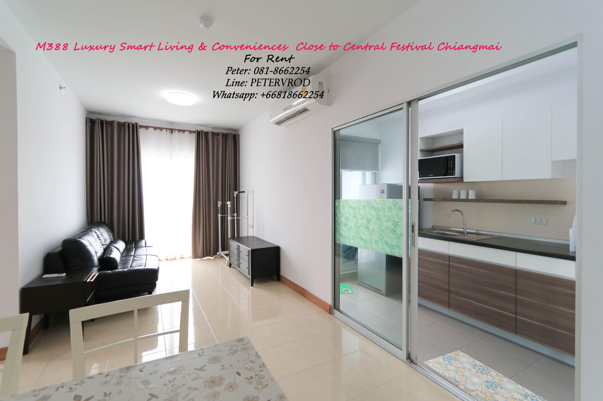 2 Bedroom Condo To Rent At Supalai Monte 1 Condo Chiang Mai