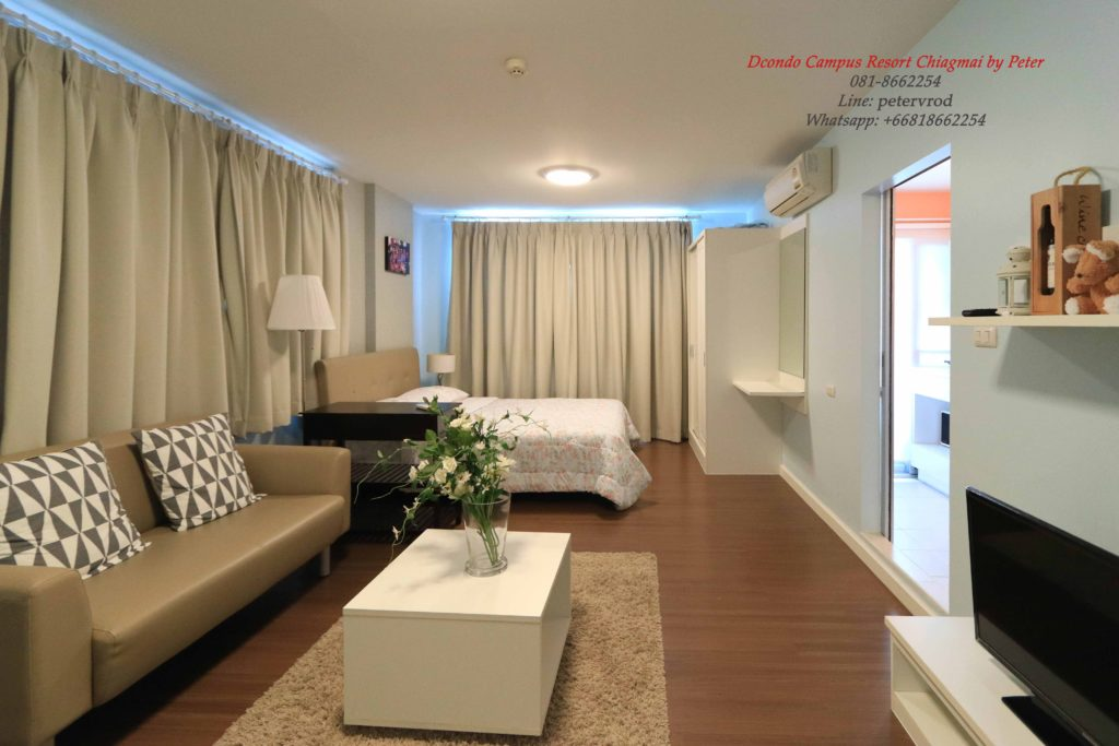 DCondo Campus Resort for rentGorgeous 1 bedroom chiang mai